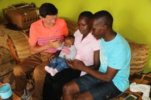salavarda rotich stacy ndiwa with baby