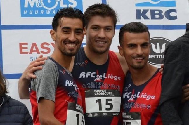 rfcl sen podium 2 relays gand 2017